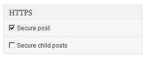 WordPress HTTPSウィジェット