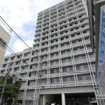 NHK放送技術研究所を世田谷通りから