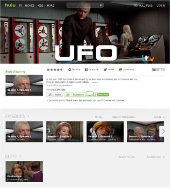 hulu「UFO」