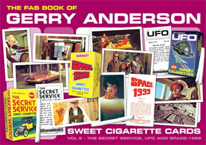 「THE FAB BOOK OF GERRY ANDERSON SWEET CIGARETTE CARDS」Vol.2