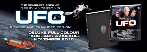 クリス・ベントレー著『The Complete Book of Gerry Anderson's UFO』