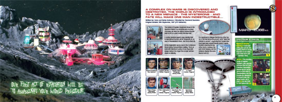 「CAPTAIN SCARLET AND THE MYSTERONS CLOSE-UP」