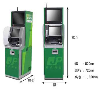 ゆうちょ銀行小型ATM