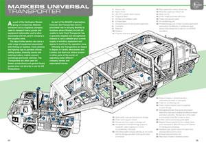 「UFO Annual 1972」のモービル・トランスポータークロスセクション