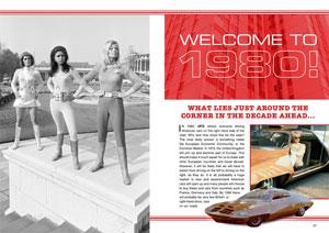 「UFO Annual 1972」のポージングショット